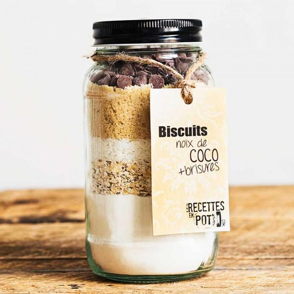 Biscuits Noix-Coco